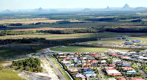 Caloundra South is to accommodate thousands.