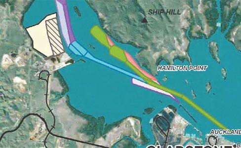 OFFSET AREA: The Western Basin dredging plan, Gladstone.