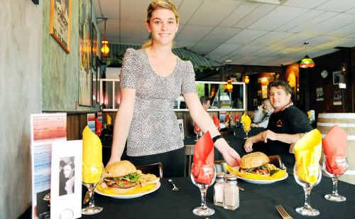 Waitress Simone Van Staden and chef Josh Law, of the Sabrosa Steakhouse, have noticed an increase in customers this year.