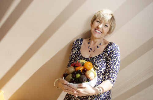 Weight loss secrets: Buderim author Annette Sym has just launched the sixth book in her Symply Too Good To Be True healthy eating series.