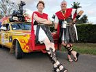 Bill Milburn (Quercus Berserkus) and Casey Dwyer (Ubi Sumcus) in last year's Variety Bash.