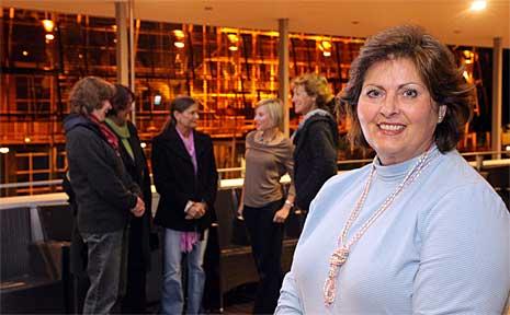 Stella Romagnoli-Passeggi has established a migrant women's group at USC.