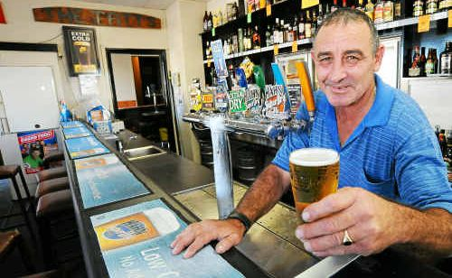Tattersalls Hotel barman Scotty Gray thinks it's about time that people realised that beer is good for you.