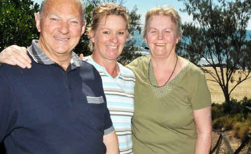 Sue and Keith Shepherd from Tasmania visiting their daughter, Tania Hinds, enjoyed their time exploring Canoe Point.