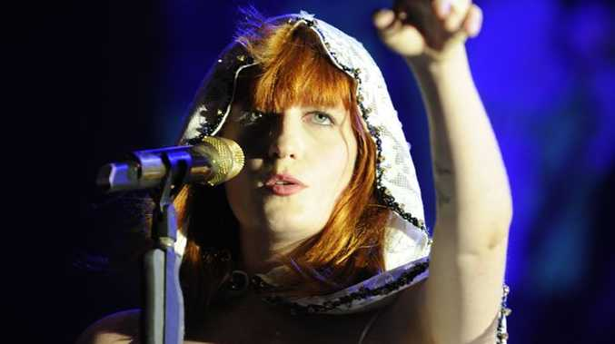 Florence from Florence and the Machine performs at Splendour in Grass in 2010.