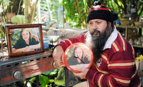 Bundaberg dad Mick Peet spent years looking for his missing daughter, Lateesha Nolan.