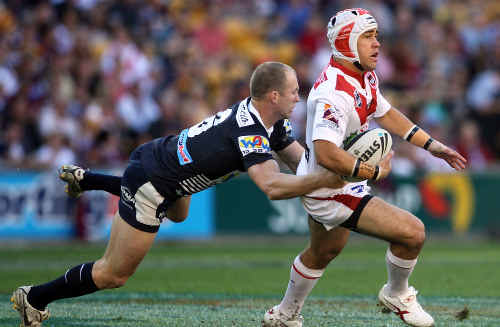 Craig Buckley is looking to the NRL finals, which will feature the St George Dragons.