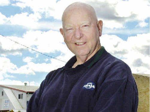 Evans Head resident Doug Behn.