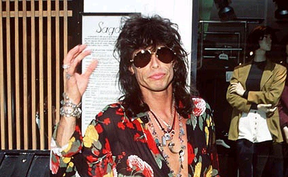 Steven Tyler from Aerosmith.