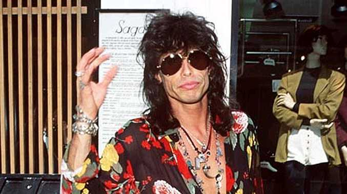 Steven Tyler from Aerosmith.