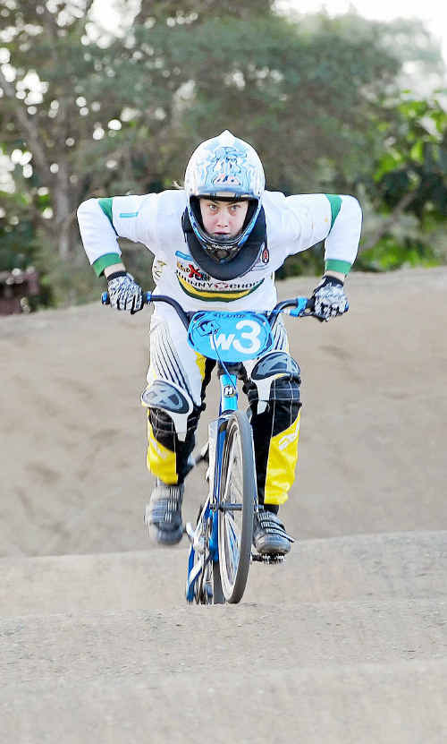Jade Parker has just returned from the World BMX Championships in South Africa.