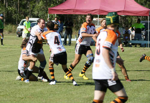 Miriam Vale enforcer Aaron Causton will hope his team can cap a year off in dominance with a premiership.