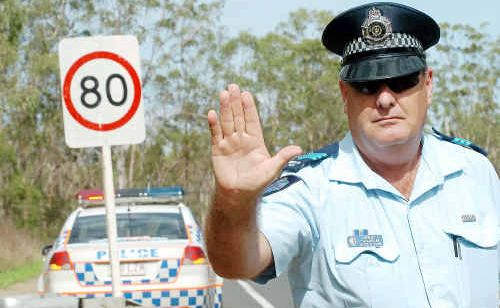 Sergeant Tim Marrinan of the Gin Gin police is warning drivers to adhere to new speed limits on the Bruce Highway.