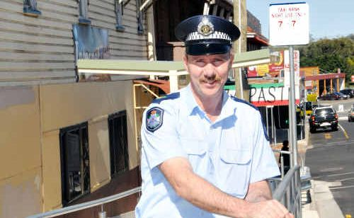 Senior Sergent Phil Edwards praised the work of LIAG and Gympie Regional Council in helping reduce street violence.