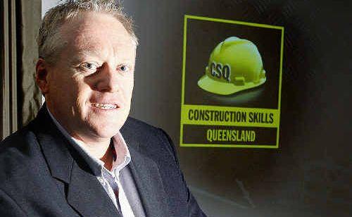 Construction Skills Queensland CEO Brett Schimming brought his training roadshow to Ipswich.