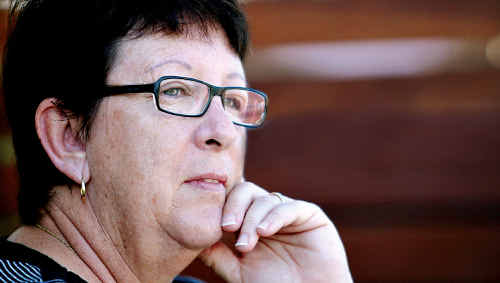 Concerns: Social worker Donna Corte says axing the Better Access program would hurt mentally ill people in small towns.