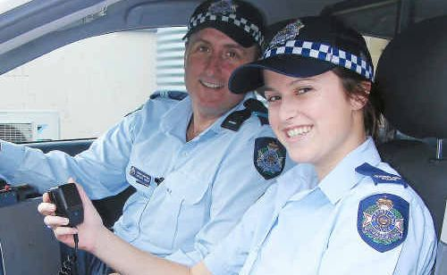 By freeing up the triple-0 line it will make it easier to get the right response from Warwick Police like Senior Constable Michael Hauff and constable Claire Mackie.