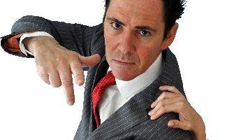 Hypnotist Mark Anthony.
