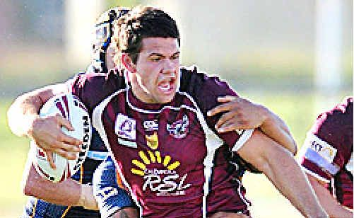 Vic Mauro is in line for a Manly call-up.