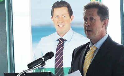 Cowper MP Luke Hartsuyker claimed $16,012 in travel allowance and another $19,111 for domestic travel in the last six months of 2012.