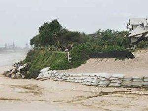 $300,000 for Belongil Beach coastal protection