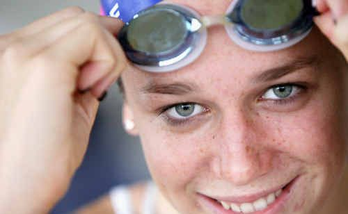 Tessa Wallace, 16, is off to swim at the Pan Pacific Championships in California.