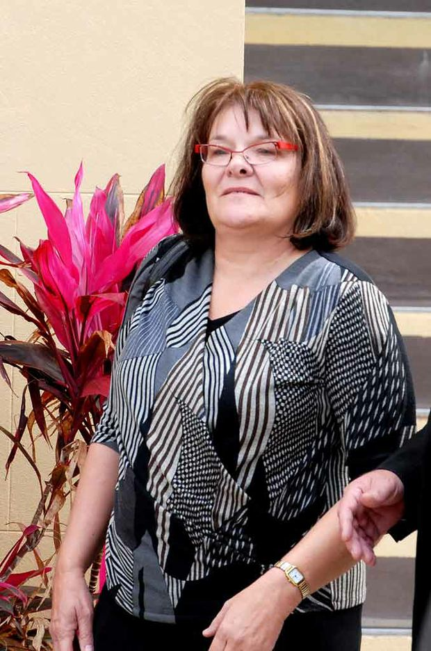 Pamela Usher, who has remarried and now lives in South Australia as Pamela Saffery, stole from elderly and sick patients at the Mackay Mater hospital.
