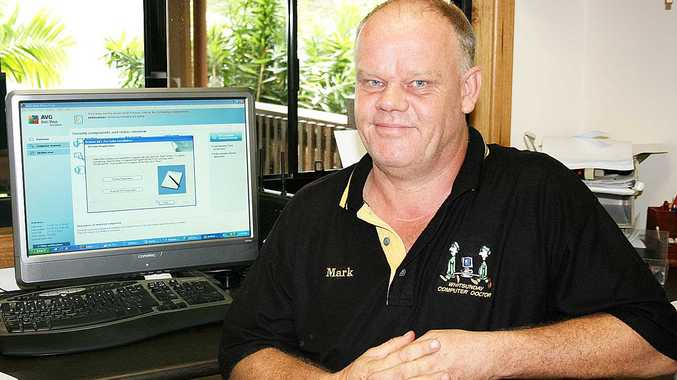 Mark O'Donnell from Whitsunday Computer Doctor has urged people to watch out for computer scamming traps.