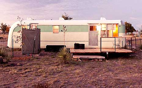 The ultimate bohemian destination, El Cosmico in the Texan desert.