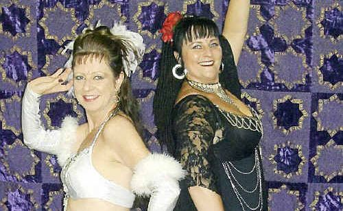 Gympie bellydancers Melanie Fitzgibbon and Cathy Howe will represent Queensland at the Belly Dance Star Awards in Sydney next weekend.