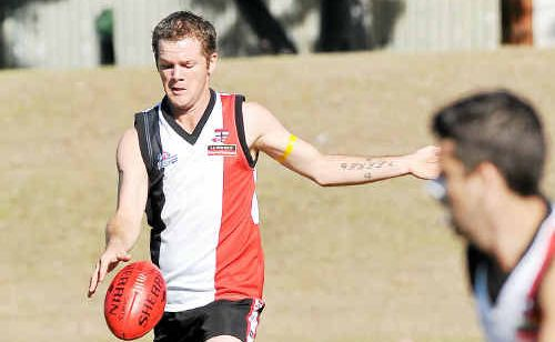 BITS midfielder Lukas Hall is out of action for the finals, after injuring his knee last week against the Yaralla Mudcrabs.
