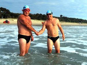 Charity swim to pass $1m total