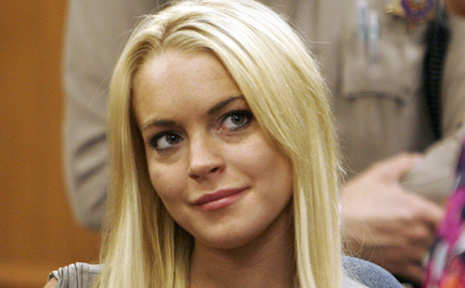 Lohan is currently undergoing court-ordered rehab