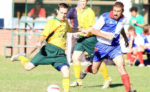 Uki's Michael Douglas was in sparkling form against Kyogle.