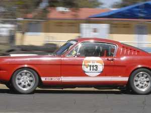 Racing legend heads record field