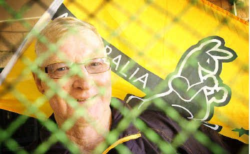 Maryborough squash player Barrie McDevitt would love to win gold in the World Masters Squash Championships in Cologne.