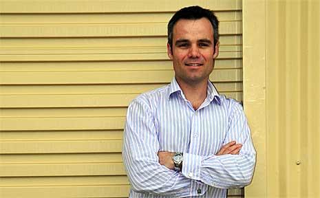 Clearmake managing director David Lumb.