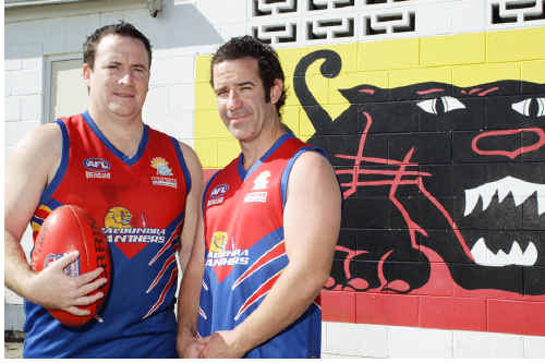 Caloundra Panthers vice-captain Barry O'Brien and his coach and brother, Trevor, are delighted to be in the running for a premiership.