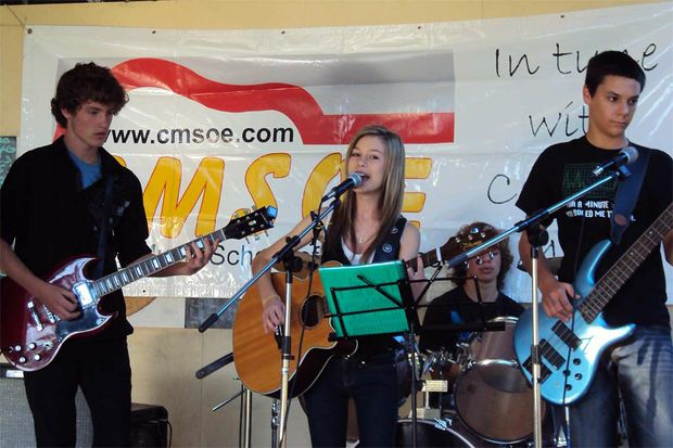 CMSOE's Aiming High will perform at the Pre Muster Party.