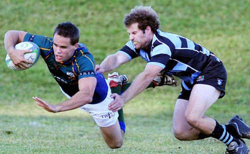 After suffering cramp in last weekend's game, University's Luke Bridley, left, has been cleared to play in tomorrow's preliminary final against Maroochydore.