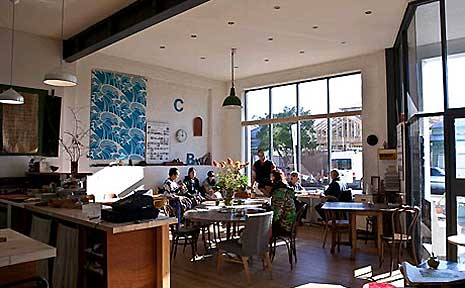 Cibi cafe in Collingwood, Melbourne.