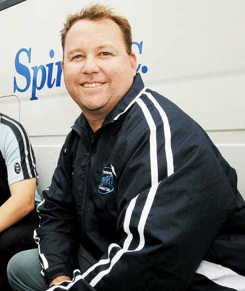 Tony Roebuck steps up to become head coach of the Bundaberg Spirit.