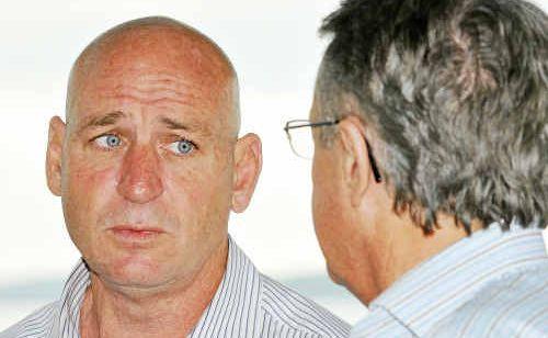 Deputy Prime Minister Wayne Swan visits Member for Flynn Chris Trevor on his final day of campaigning.