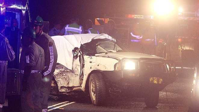 THREE people are dead after a horror two car crash on Tweed Valley Way last night.
