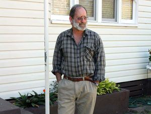 Acland's last remaining homeowner, Glen Beutel.