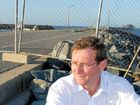 North Queensland Bulk Ports' Jeff Stewart-Harris expects the breakwater will be repaired by November.