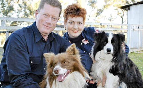 Guest speaker Denise Quinn lives at Upper Pilton with her husband Kelvin Hutchinson and their dogs Max and Tara.