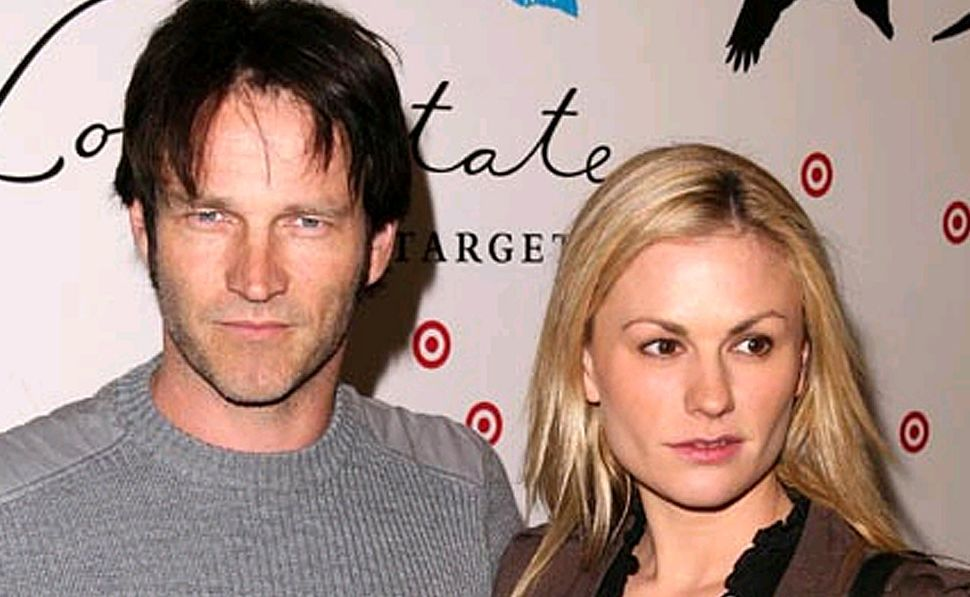 Stephen Moyer and Anna Paquin.