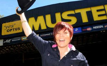 Jessica Gilmore is ready for the 2010 Optus Muster. It' is the R.M. Williams employee's first time at the music festival which started yesterday and runs until Sunday.