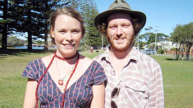Claire McGarry and Sam Fell . . . they have been contracted as 'Music Brokers' by Arts Northern Rivers.
